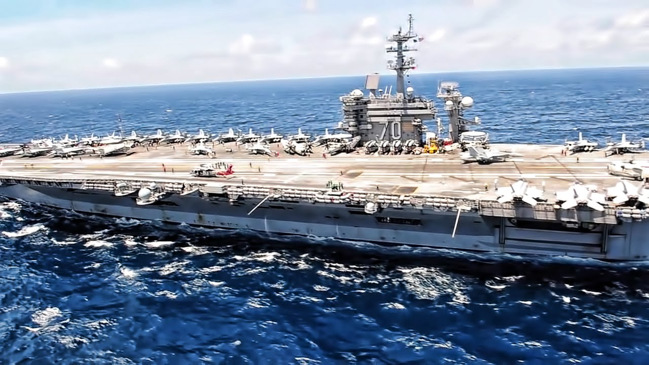 Aircraft Carrier Strike Group One - YouTube