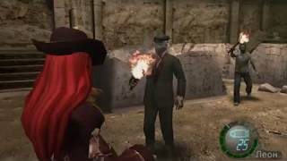 Прохождение Resident Evil 4 на сложности ВЕТЕРАН #7 | Кровавая поездка на повозках