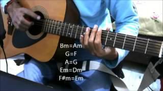 oh kyu ni jaan ske ninja feat goldboy complete guitar cover lesson chords