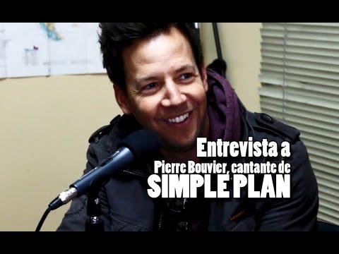 Entrevista a Pierre Bouvier de Simple Plan (2016) / Interview with Pierre Bouvier (2016)