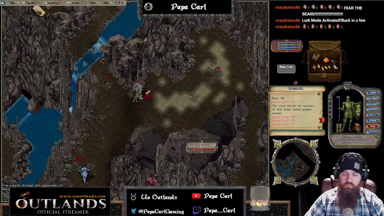 UO Outlands! Dungeon loot! Level 2 this time