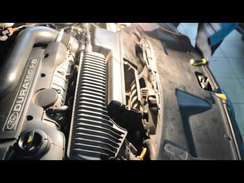 Замена воздушного фильтра часть 3 на Форд Мондео Автосервис «Скорпион» г Астрахань ул Ширяева 8Б