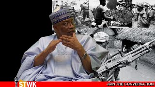 Only a united Nigeria can defeat Boko Haram - Ibrahim Babangida on Straight Talk with Kadaria 44d