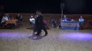 Leslie Folcarelli & Thomas Barbier *Viejo Porton, Sexeto Milonguero* @Champnier, France - 2/03/19