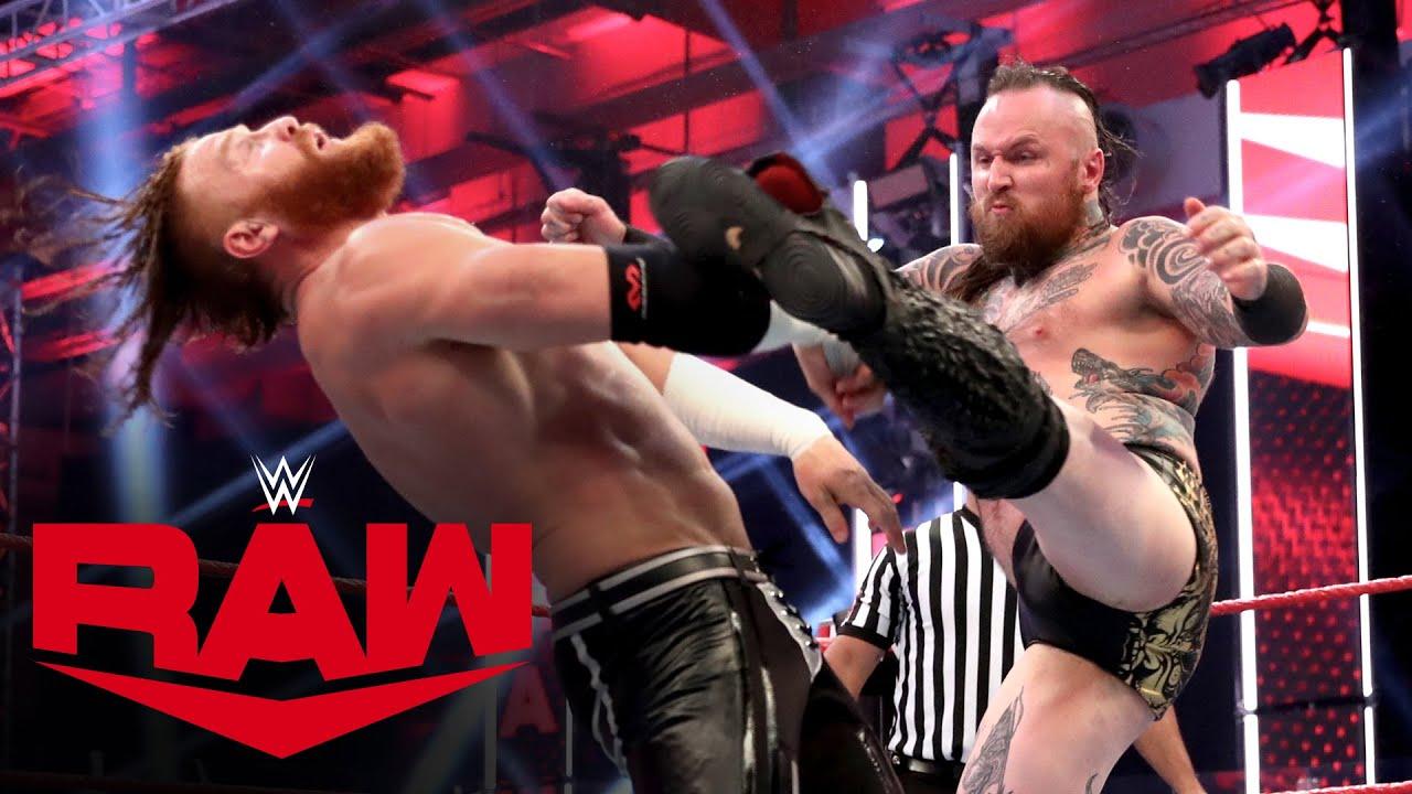 Aleister Black vs. Murphy: Raw, July 13, 2020
