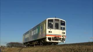 関東鉄道常総線 2018/01/01
