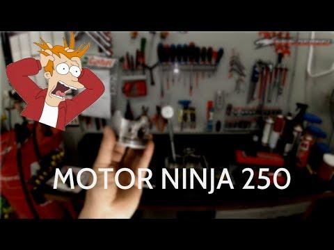 MP - Abrindo cabeçote Ninja250 - Ficou ruim para as Versys!