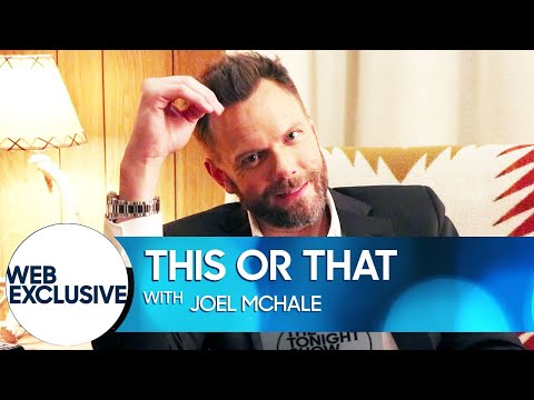 This or That: Joel McHale Wants His Exhales to Sound Like Air Horns
