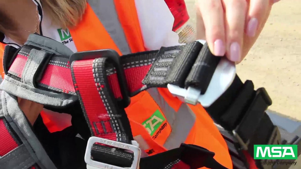 Msa Safety Tip Harness Inspection
