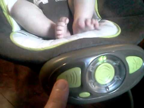 Bright Starts Ingenuity Automatic Bouncer Review Youtube