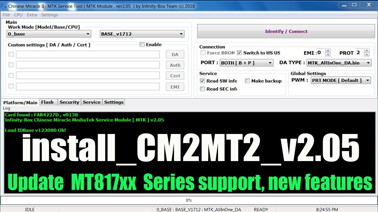 Chinese miracle mtk v2 05 new features Mtk Frp Tool 2019
