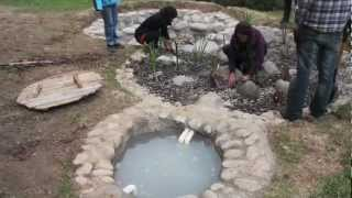 Building a Bio-Filter, (Greywater Recycling System)