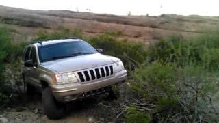 jeep wj grand cherokee off road