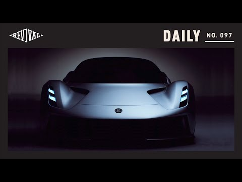 Lotus Evija 2,000 horsepower electric and the Lotus head of design // Revival Daily 97