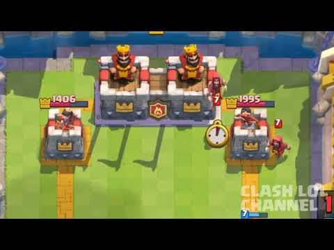 Clash Royale Funny Moments 2017 - Clash LOL Funny Montages, Glitches, Trolls #28