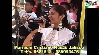 """ALABANZAS AL SEÑOR - """"YA NO ESTOY SOLA"""" - MARIACHI CRISTIANO NUEVO JALISCO   LIMA PERU"""