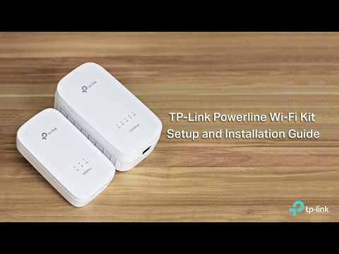 TP Link Powerline Wi-Fi Kit Setup and Installation Guide