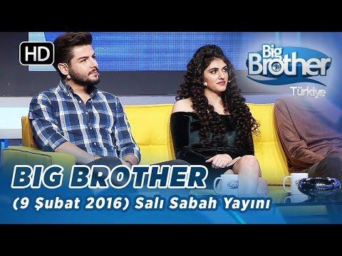 Big Brother Türkiye (9 Şubat 2016) Salı Sabah Yayını - Bölüm 104 Big Brother Türkiye - Bölüm 104