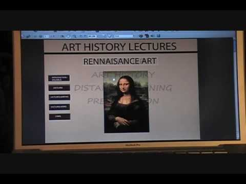 Art History Mock Up Distance Learning