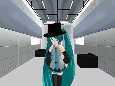 HD Miku Miku Dance  Virtual Insanity