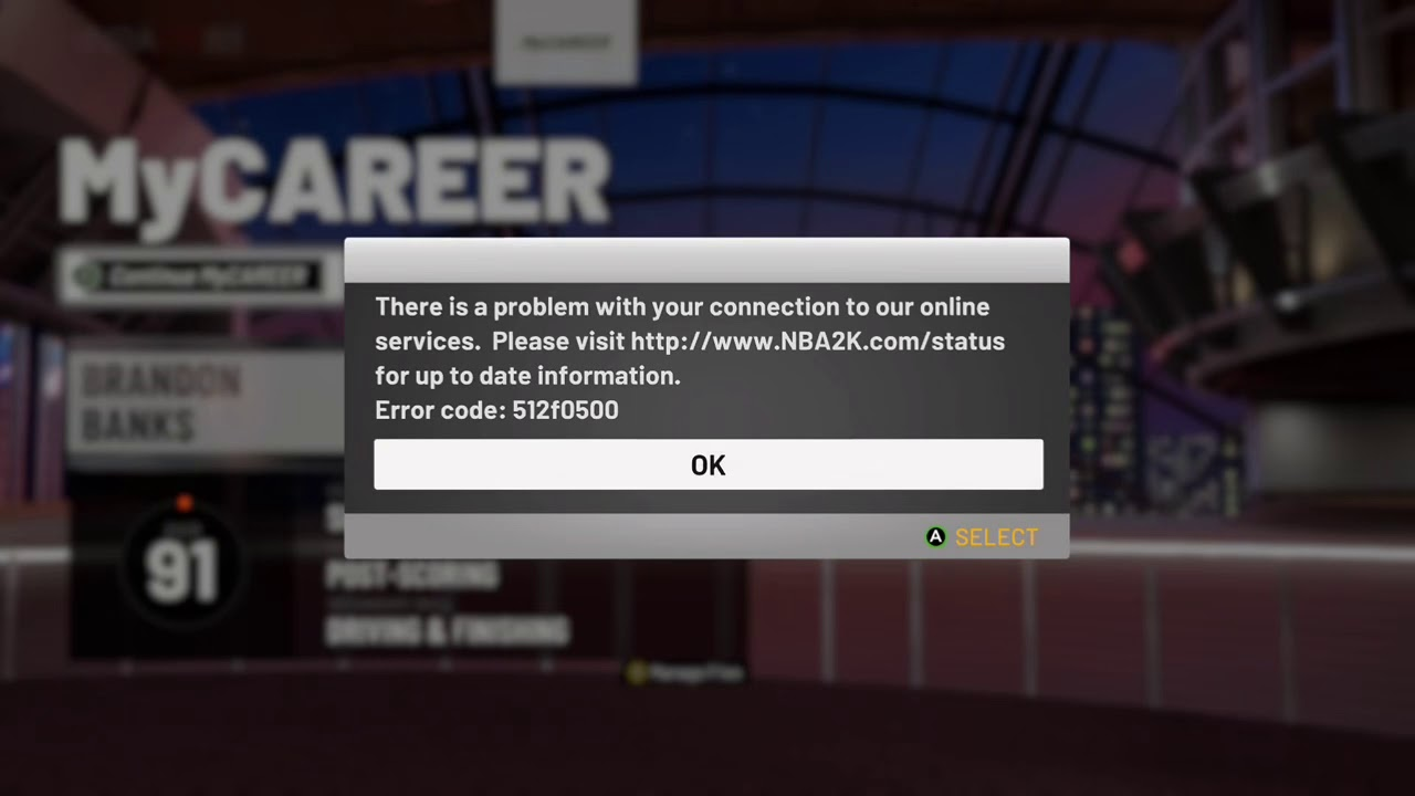 NBA 2K19 SERVERS ARE DOWN! @2KSUPPORT