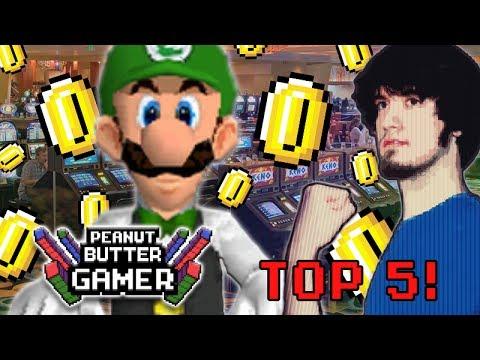 Top 5 Gamblings in Video Games! - PBG
