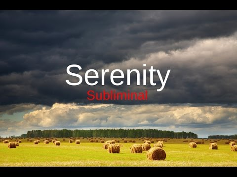 Serenity Winds: Subliminal Stress Relief Affirmations with  Wind & Chimes