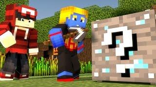 Minecraft: MINERIOS DE LUCKY BLOCK ‹SKYWARS MISTERIO›