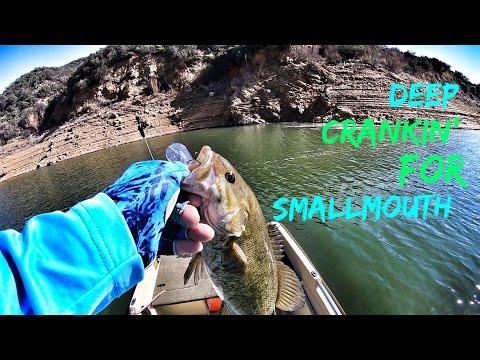 Deep Crankin' for Smallmouth-Castaic Lake