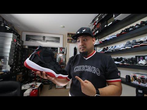 The 2019 Air Jordan 11 Retro Black/Red