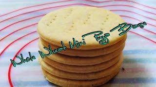 Eggless Wholewheat Mini Pizza Bread