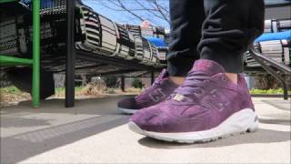 Concepts x New Balance Tyrian Purple Sneaker Unboxing + On Feet