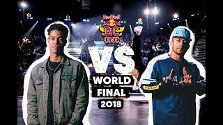 Cri6 (MAR) vs. Dr. Hill (CH)   Top 16   Red Bull BC One World Final 2018