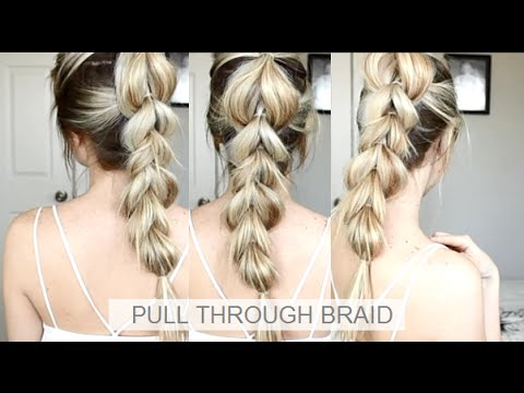 How to: Pull-Through braid | Easy braid hairstyle