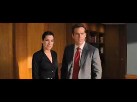 The Proposal Movie Trailer Starring Sandra Bullock And Ryan Reynolds