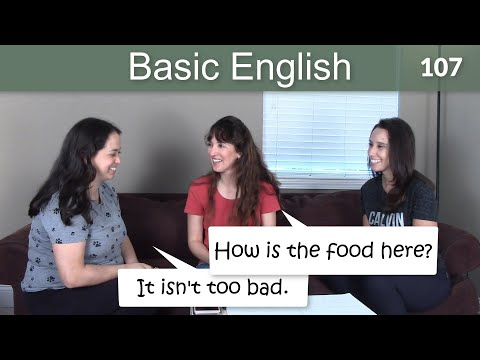 Lesson 107 ????? Basic English with Jennifer - TOO and ENOUGH