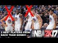 WHAT IF THE TWO BEST PLAYERS FROM EACH TEAM ARE GONE!?! NBA2K17 MyLeague Simulation