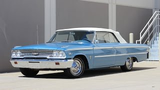 1963 Ford Galaxie Convertible 390 Police Interceptor for sale