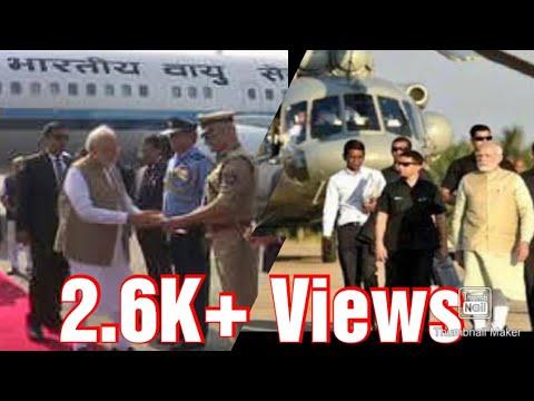 Narendra Modi Ji || Entry In Gandhari Ground || Kalyan || Pravin Jalora