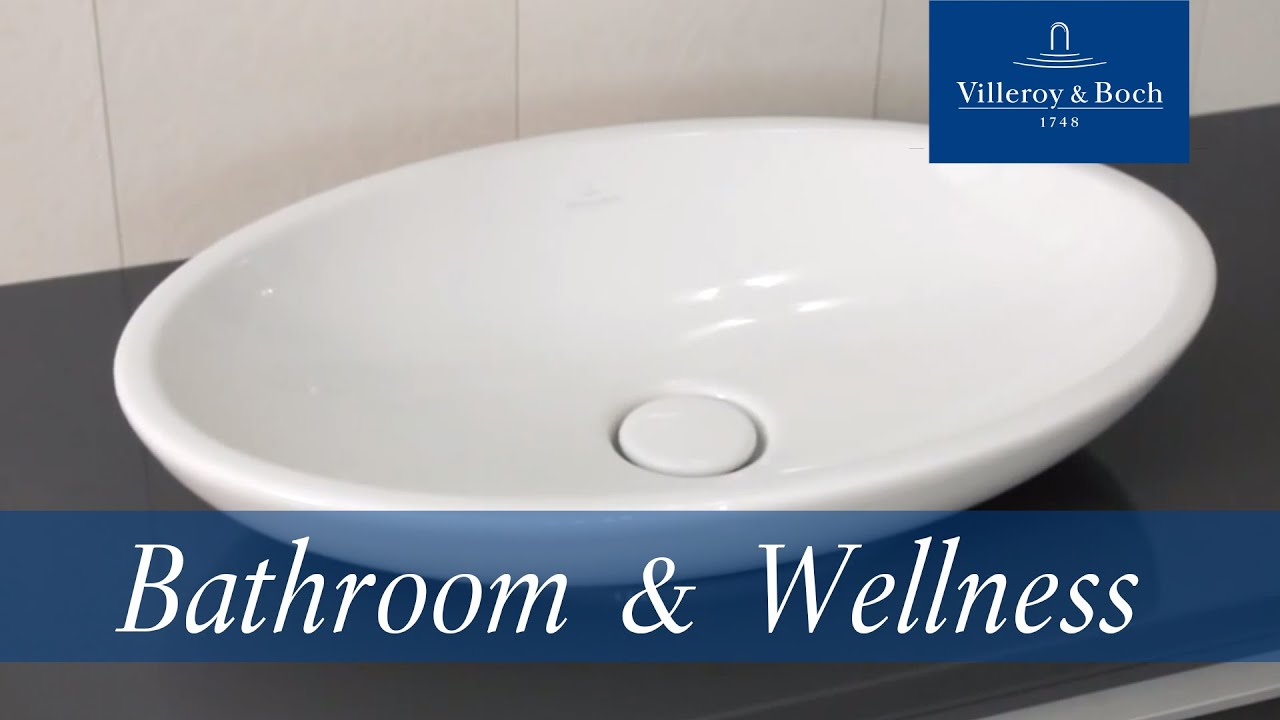 bathroom sinks loop collection villeroy boch youtube. Black Bedroom Furniture Sets. Home Design Ideas
