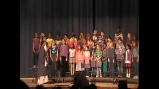 South Harnett Elementary @ Harnett off Broadway March 2013