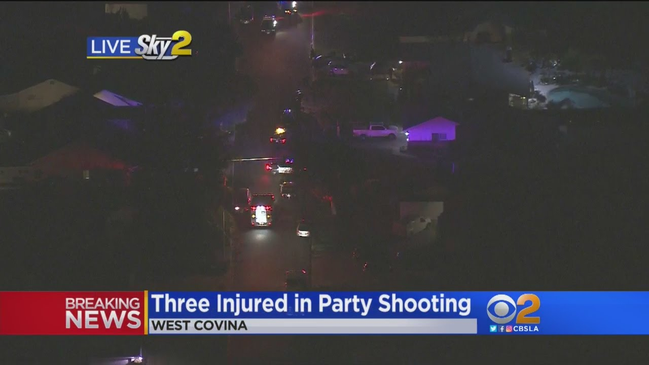 3 Injured -- At Least 1 Critically -- During Shooting At West Covina Party