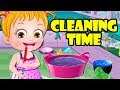 Baby Hazel Cleaning Time | Fun Online Game For Kids To Learn By Baby Hazel Games