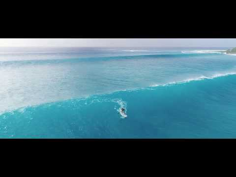 Grosse Session Surf à Port Louis Avril 2017 - Vidéo drone