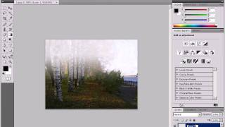 Создание тумана в Photoshop CS4 (5/5)