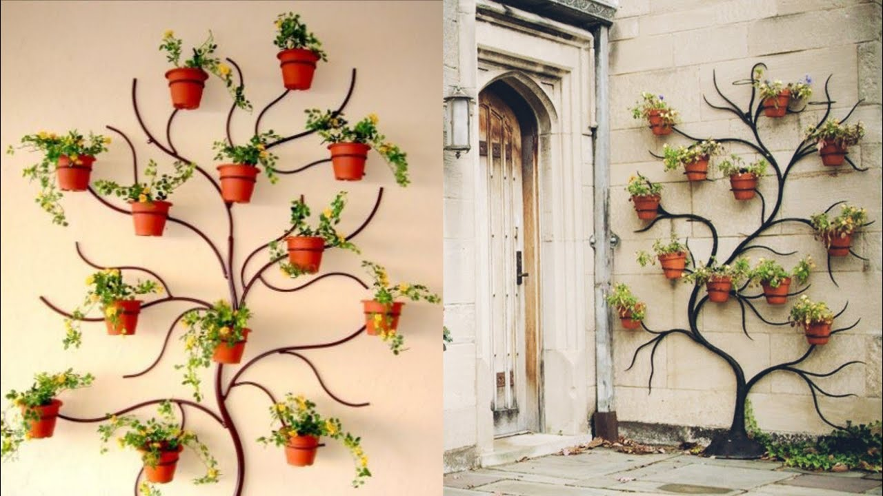 Wall Hanging Planters And Plant Holder Ideas Plant Wall Tree Youtube