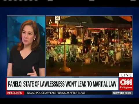 Duterte Declares State of Lawless Violence in Davao City (Part 1)