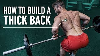 How To Build a Thick Back With Perfect Rowing Technique (Pendlay Row/ Helms Row)