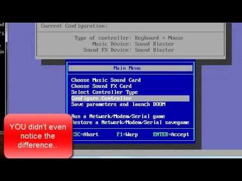 DOSBOX, WIN31, msdos doom game