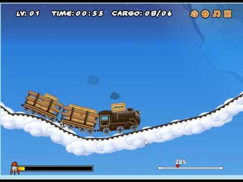 Kara trene yük at oyunu